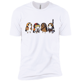 Star Wars Cute Porgs Dressed As Characters Portrait Shirt-Gift Style