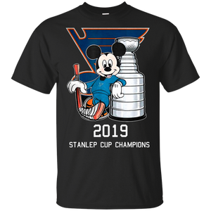 Mickey - Stanley St-Louis Cup Blues 2019 Shirt