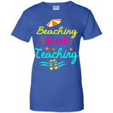 Beaching Not Teaching - Teacher Funny For Summer Shirt-Gift Style