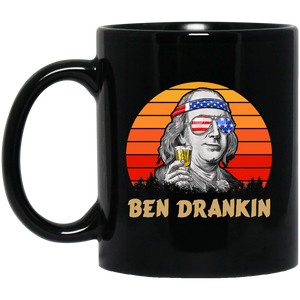 4th of July Memorial Day Ben Drankin Mug