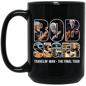 Bob Seger Travelin'man The Final Tour Mug
