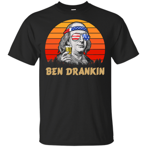 4th of July Memorial Day Ben Drankin Shirt