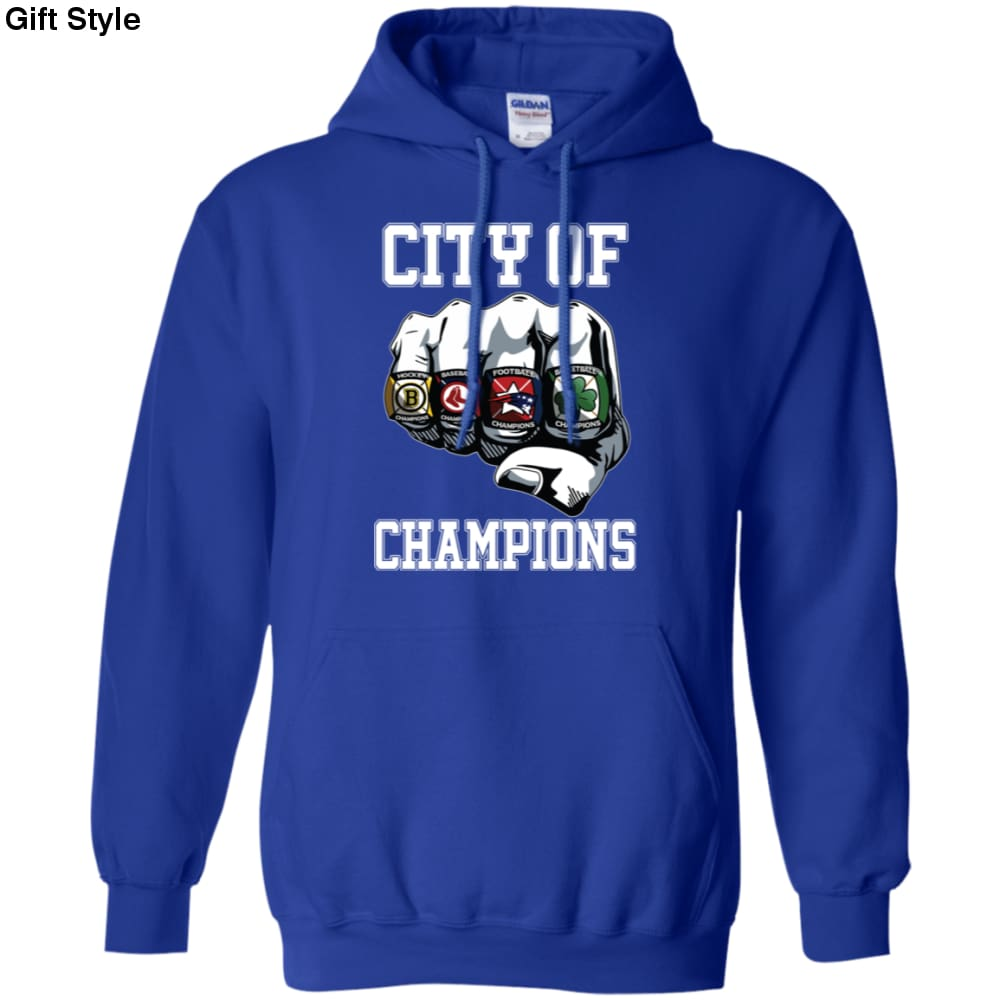 City Of Champions Boston Sports Teams Citizen Shirt-Gift Style