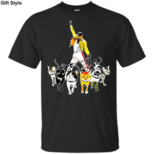Mercury And His Cats Freddie Shirt - G200 Gildan Ultra Cotton T-Shirt / Black / S - Apparel