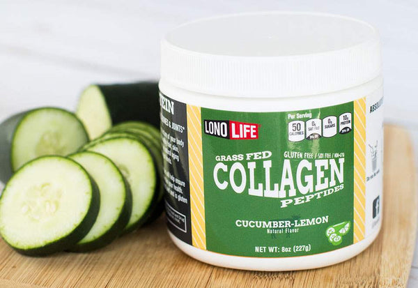 Cucumber Lemon Collagen Peptides