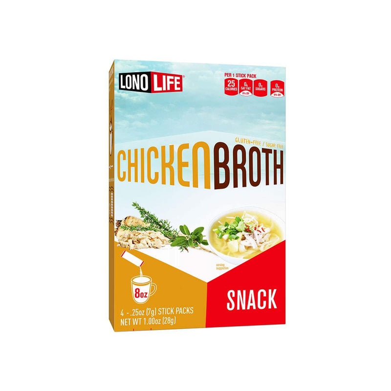 Chicken Broth Snack Stick Packs