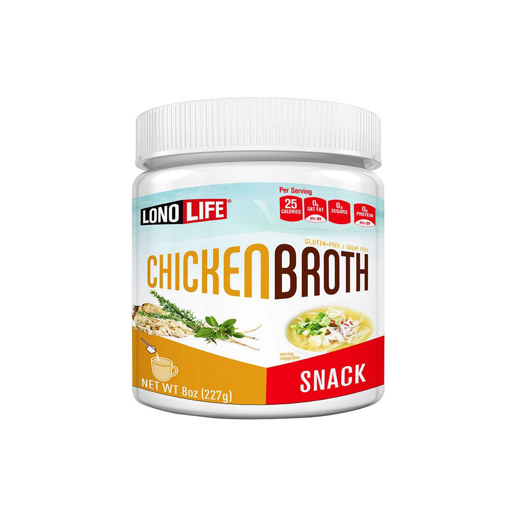 Chicken Broth Snack Bulk Container