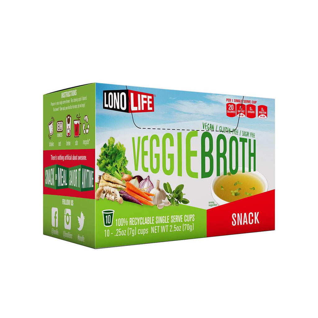 Vegetable Broth Snack Single Serve Cups