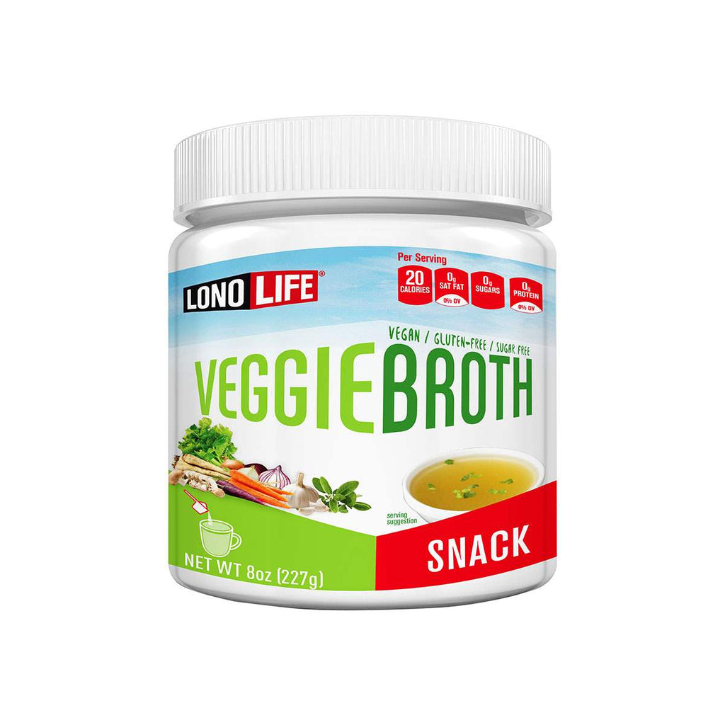 Vegetable Broth Snack Bulk Container