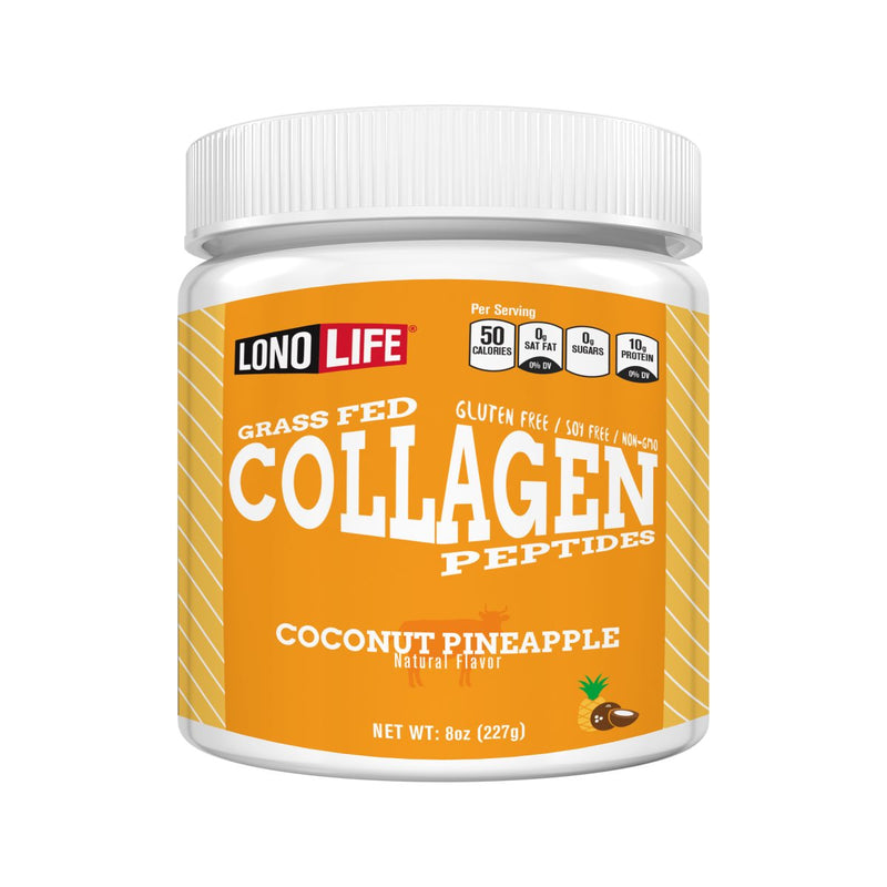 Coconut Pineapple Collagen Peptides Bulk Container