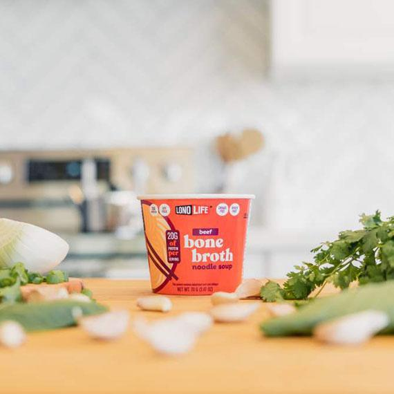 top bone broth Noodle Cup