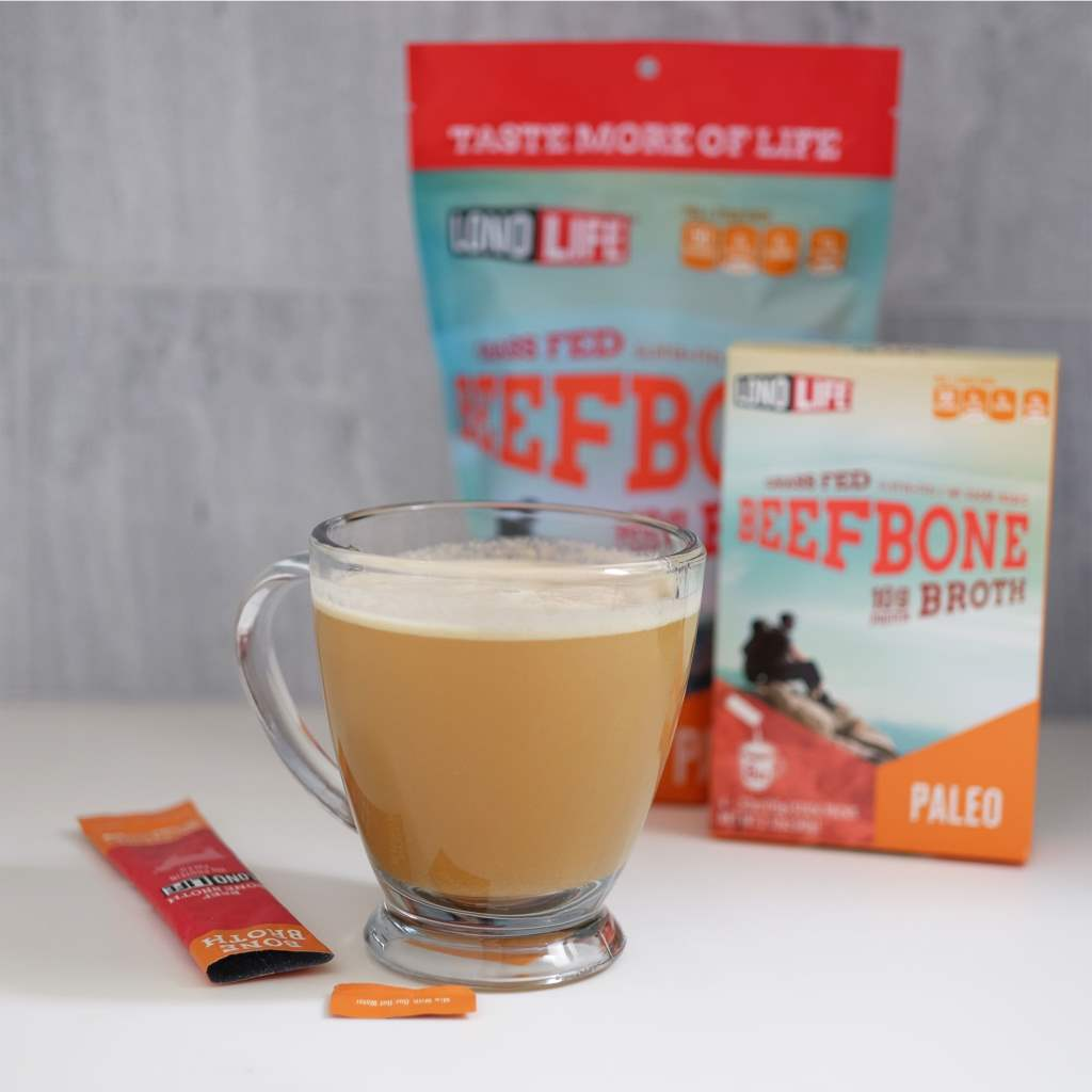 Grass Fed Beef Bone Broth Stick Packs
