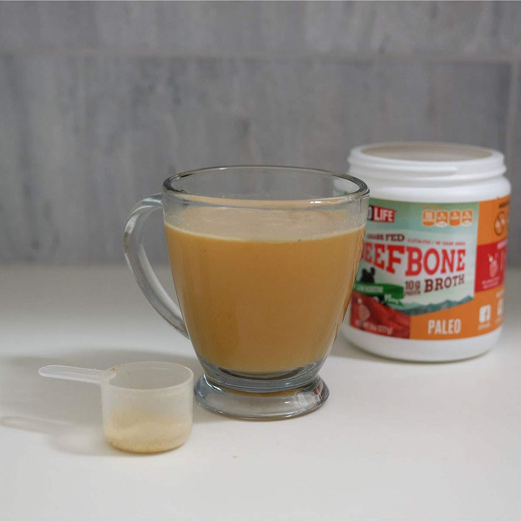 Low-Sodium Beef Bone Broth Bulk Container