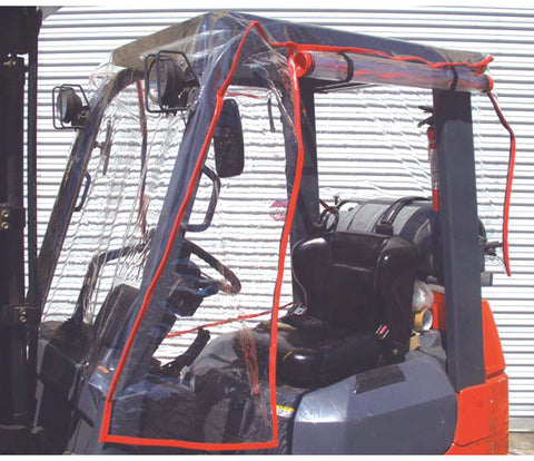 Atrium Full Forklift Enclosure Covers