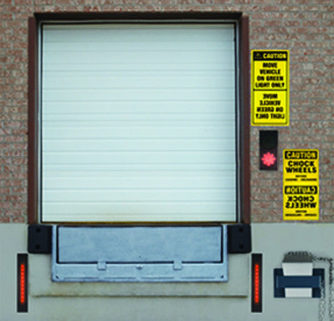Dock Traffic Lights - Forklift Training Safety Products