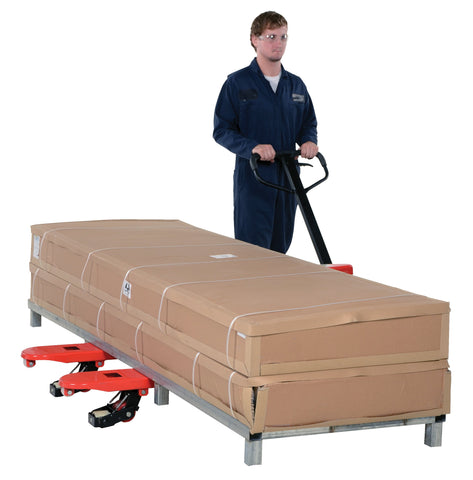 Side Winder Pallet Truck - Forklift Training Safety Products