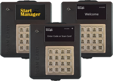 Start-Manager Operator Access Control System - Forklift Training Safety Products