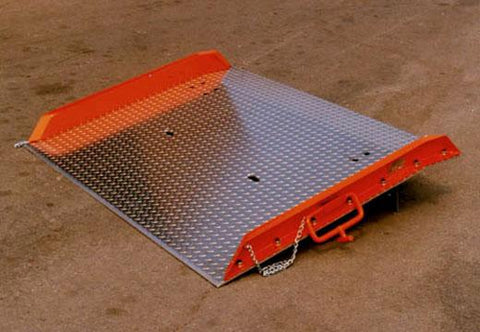 Aluminum Truck Dock Plate - Forklift Training Safety Products