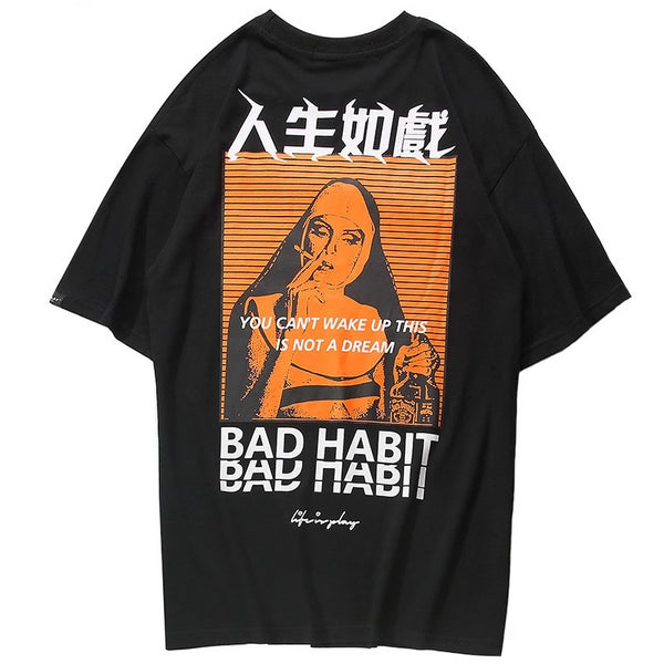 BAD SISTER TEE (2 COLORS)