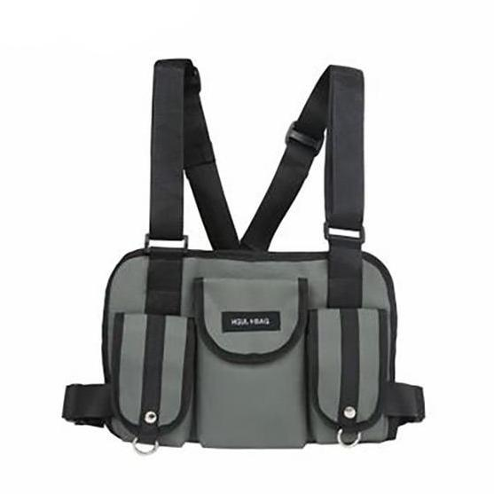 KIMOTO CHEST-RIG (GRAY)