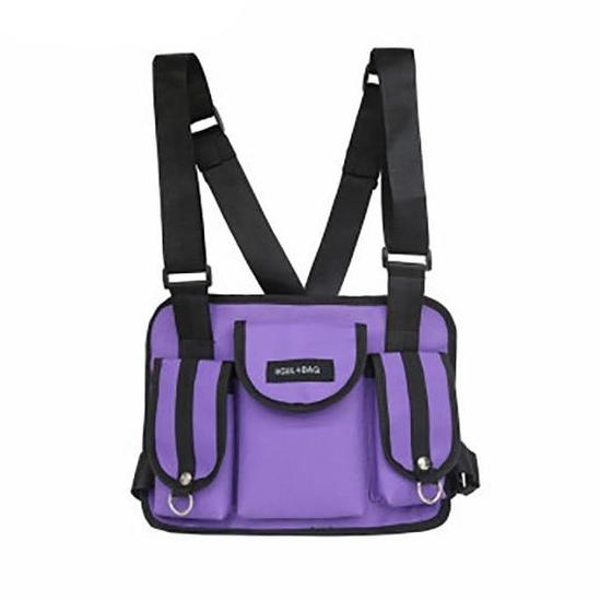 KIMOTO CHEST-RIG (PURPLE)