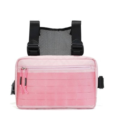 CARNAGE MOTO CHEST-RIG (PINK)