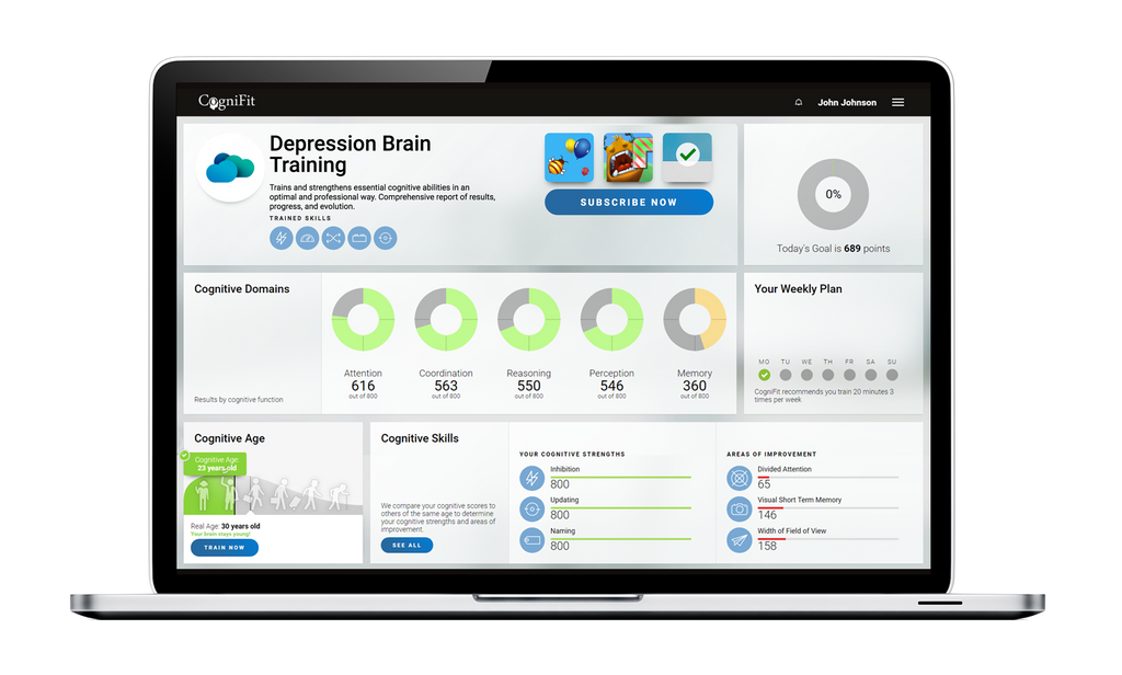 a depression test with instant results