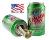 Cache- Canette lestée Canada Dry - Made in USA - video demo