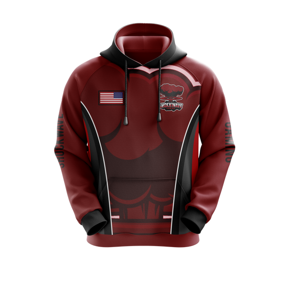 Shockwave Gaming Hoodie (Red)