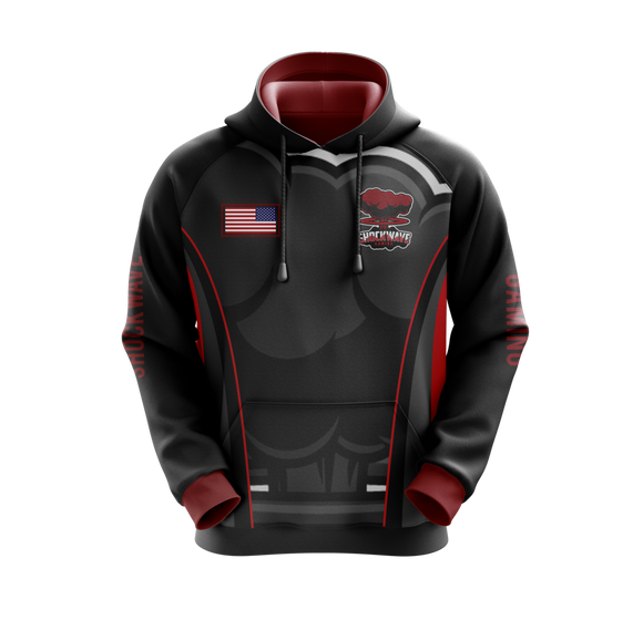 Shockwave Gaming Hoodie (Black)
