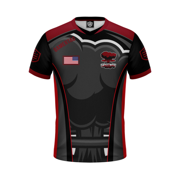 Shockwave Gaming Jersey (Black)