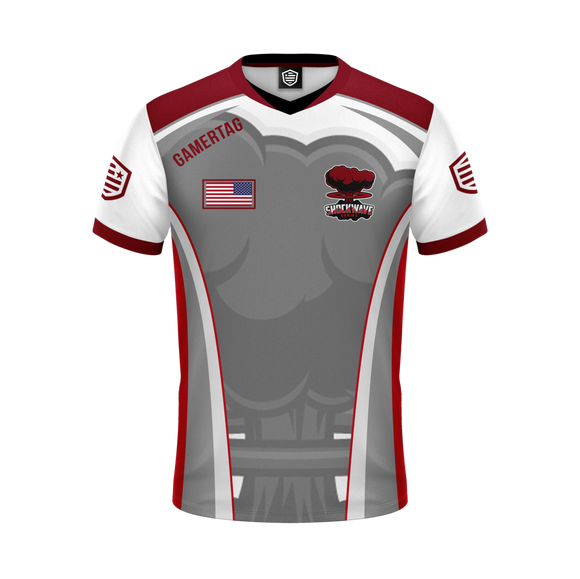 Shockwave Gaming Jersey (White)