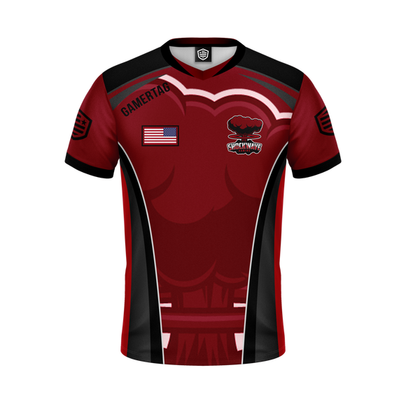 Shockwave Gaming Jersey (Red)