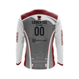 Shockwave Gaming Long-Sleeve Jersey (White)