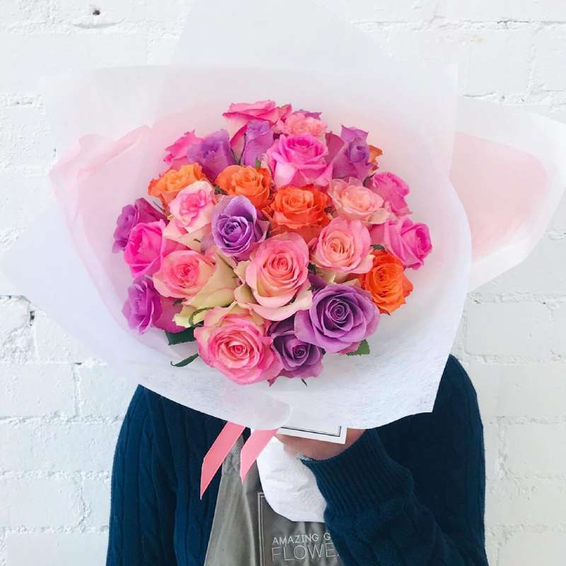 Buy Fairy Floss Roses Bouquet