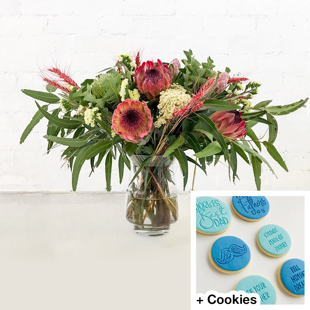 Native Flowers + Father's Day Cookies