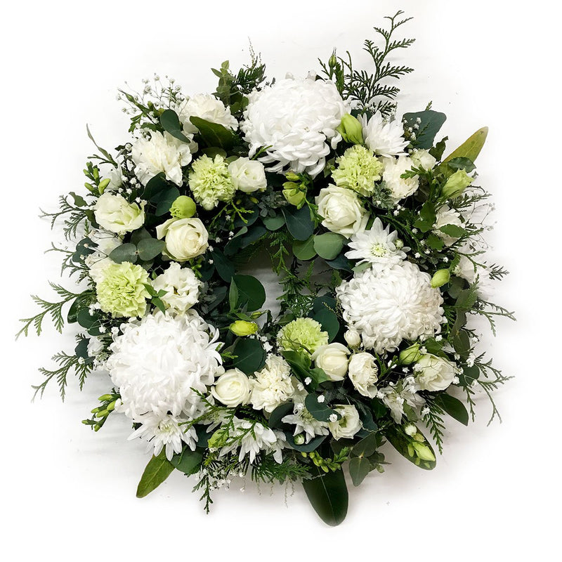 Funeral Wreath - Pure