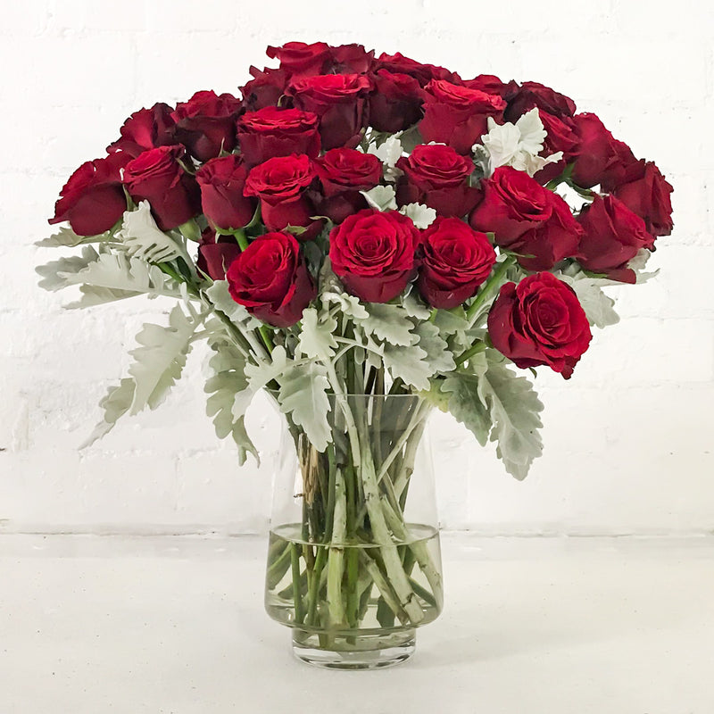 Buy Valentines Day Red Roses bouquet