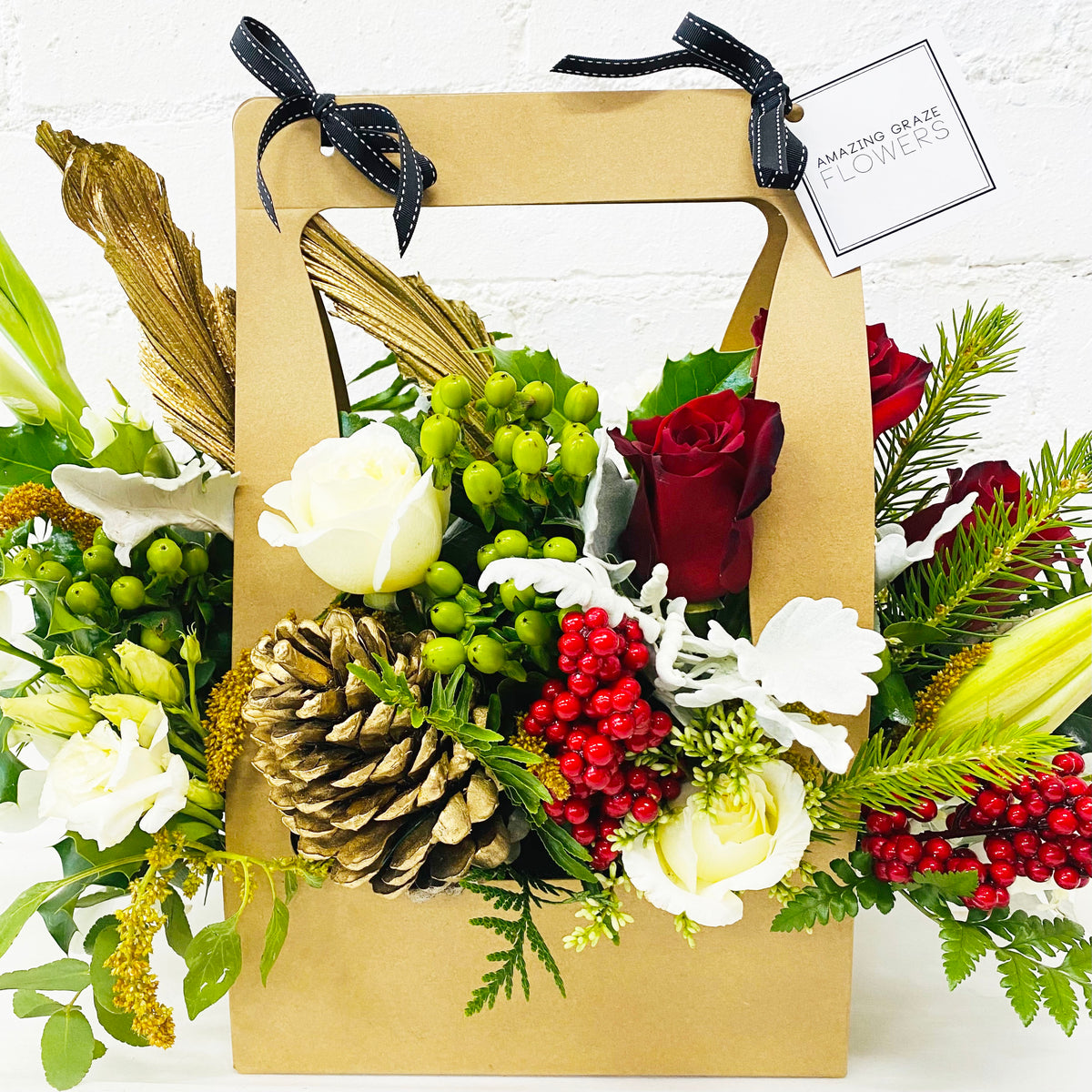 Christmas Bespoke Florists Choice