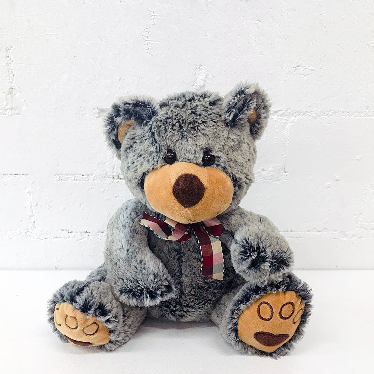 Buy Grey Plush Teddy Bear