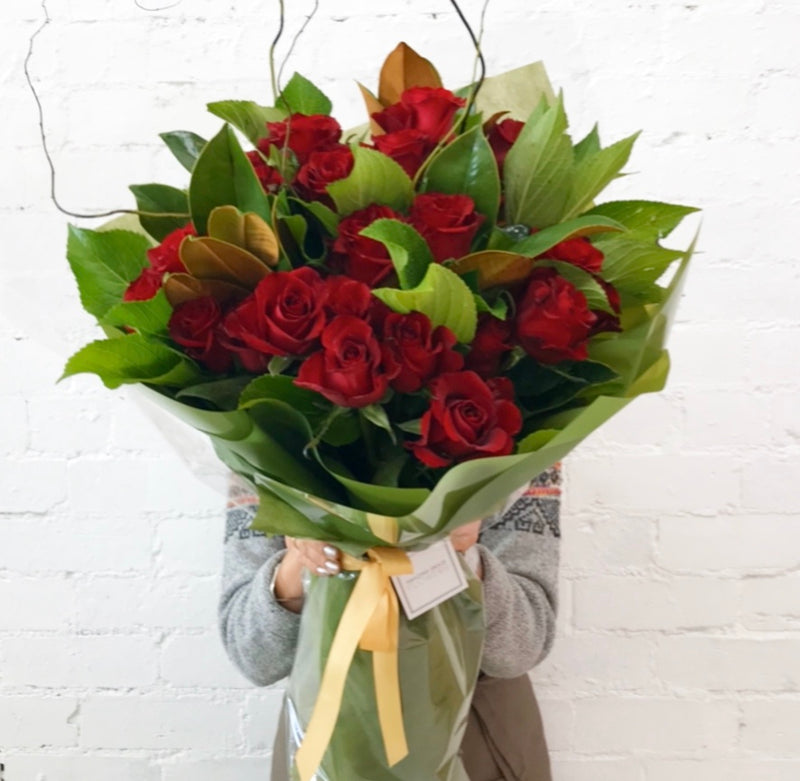 36 Premium Red Roses Bouquet