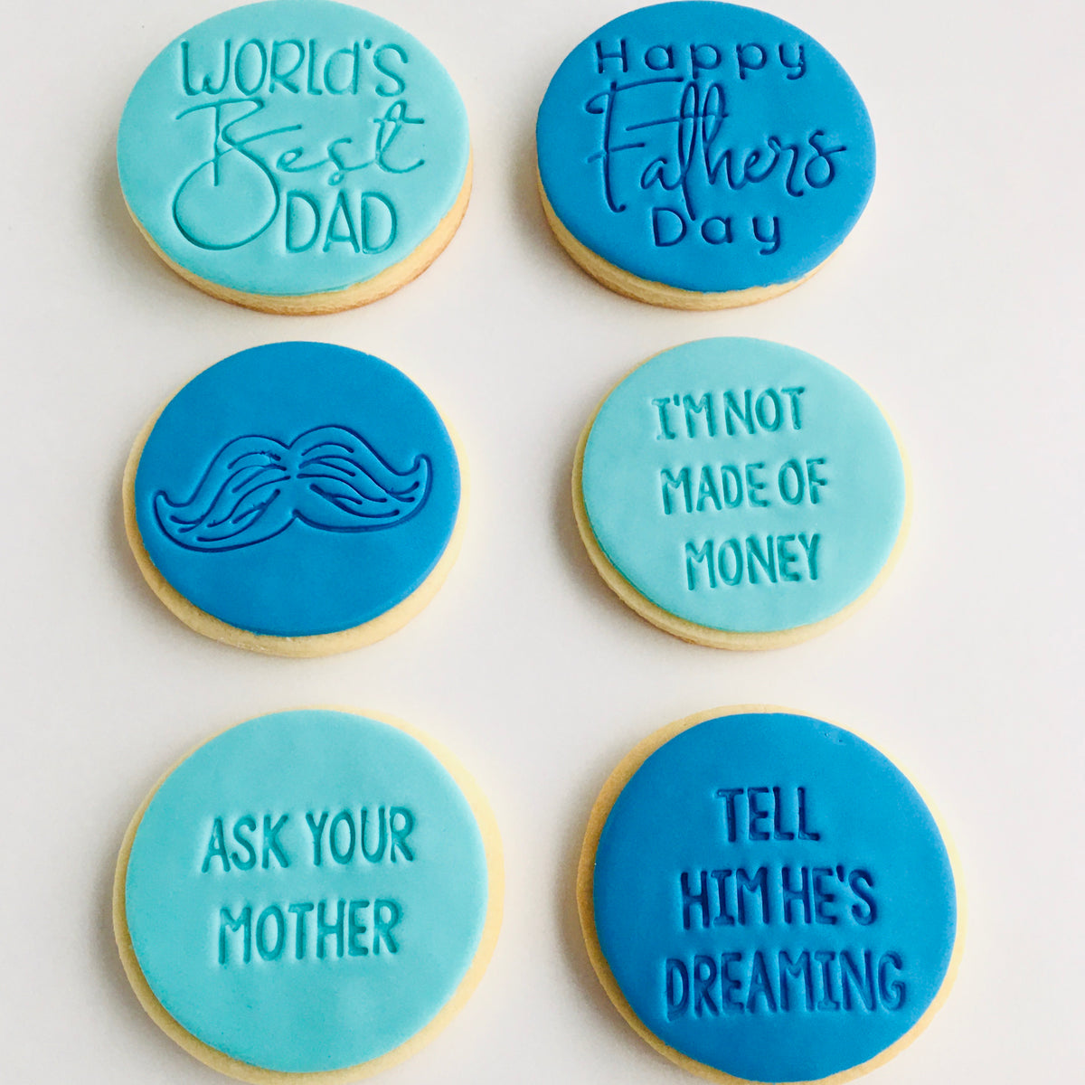 Fathers Day Cookies (Only available 4, 5, 6th of September)