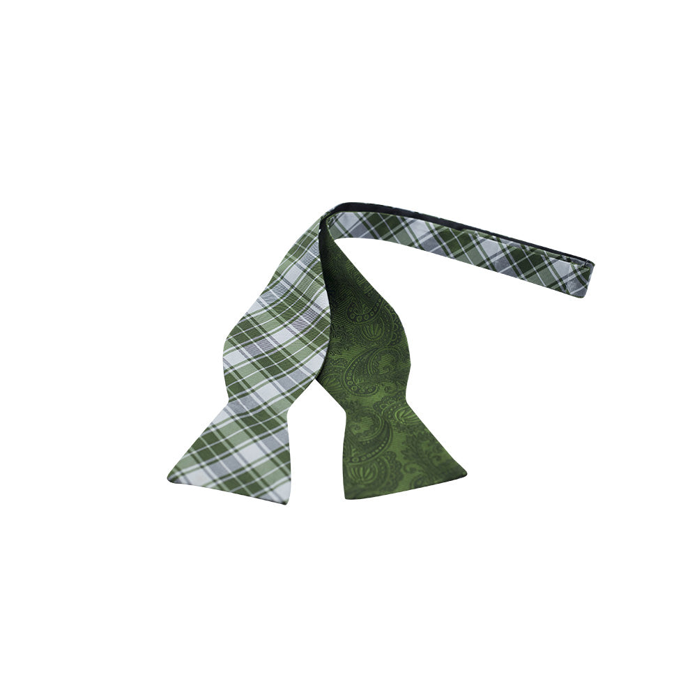 Green Plaid Reversible