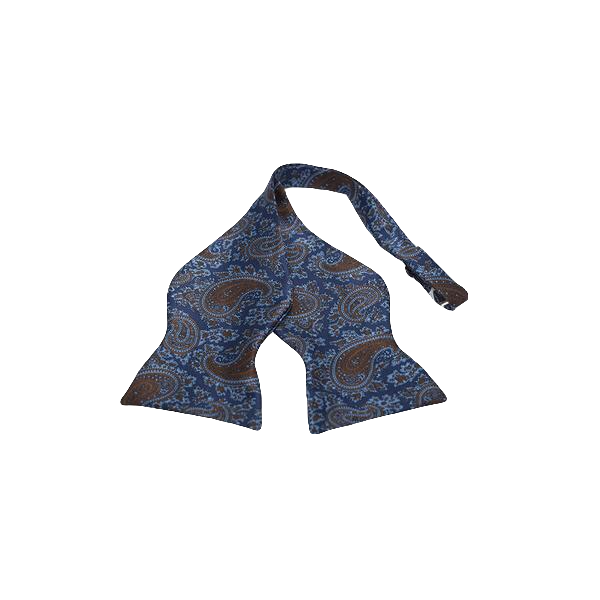 Blue & Brown Paisley Grande