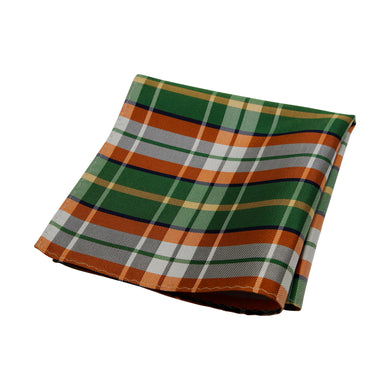 Green & Orange Tartan