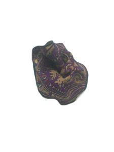 Purple & Tan Paisley