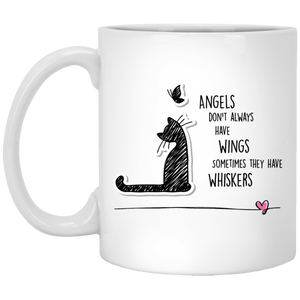 Cat Angel Coffee Mug, Tea Mug