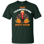 Turkey Trump Make Thanksgiving Great Again Men T-shirt