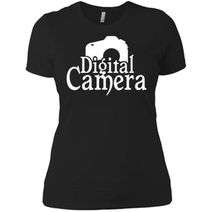 Digital Camera, Cameraman Women T-Shirt