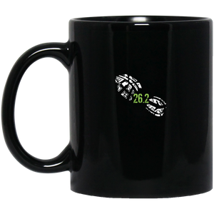 26.2 Miles Running Shoe Marathon Runner Coffee Mug, Tea Mug